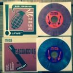 "Hard Left / Bad Daddies split 7"" (Emotional Response Records)"