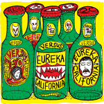 Eureka California - Versus CD/LP/CS (HHBTM Records)
